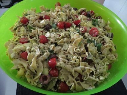 Chicken Pesto Pasta Salad Recipe