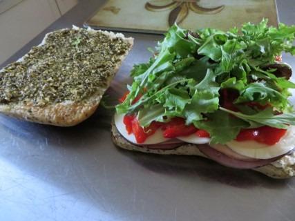 Italian Style Panini Sandwich Recipe (2)