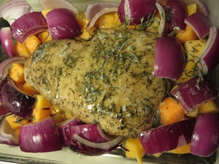 Champagne Pork Roast With Butternut Squash Recipe (2)