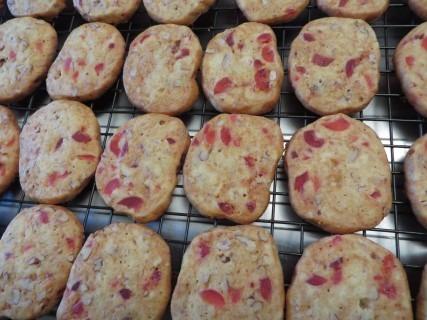 Cherry Pecan Icebox Cookies Recipe 029 (Mobile)