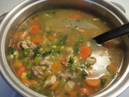 Turkey Vegetable Barley Soup Recipe (3)