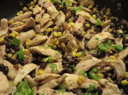 Cilantro Lime Chicken Tortillas