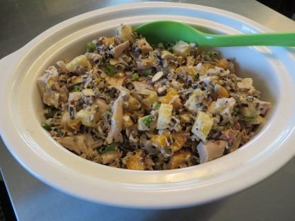 Hawaiian Wild Rice Chicken Salad Recipe 012 (Mobile)
