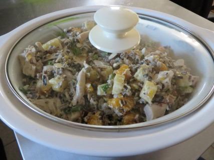 Hawaiian Wild Rice Chicken Salad Recipe 016 (Mobile)
