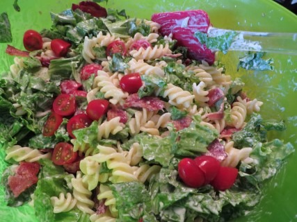 BLT Pasta Salad Recipe 012 (Mobile)