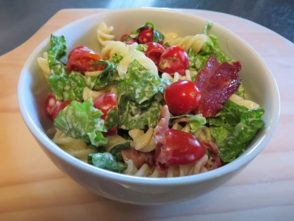 BLT Pasta Salad Recipe 020 (Mobile)