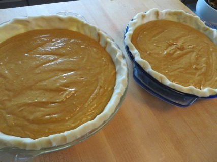 Fall Harvest Pumpkin Spice Cake Pie Recipe (3)
