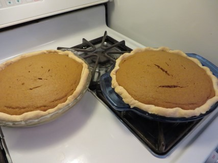 Fall Harvest Pumpkin Spice Cake Pie Recipe (5)