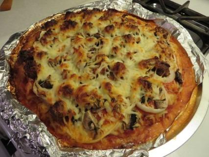 Chicken Crust Pizza Recipe 040 (Mobile)