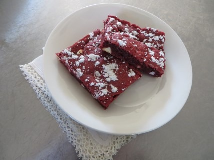 Red Velvet Brownies Recipe (8)