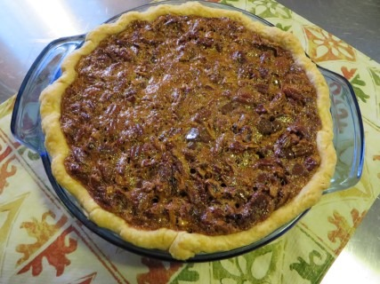 Chocolate Pecan Pie Recipe 037 (Mobile)